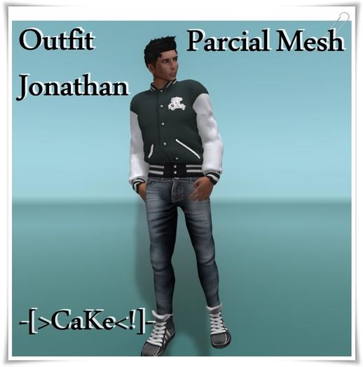[[>CaKe!<]]-Mesh Outfit Jonathan