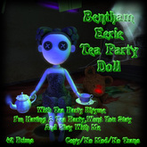 Bentham Eerie Tea Party Doll (boxed)