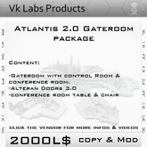 Atlantis Gateroom Package [ tagSciFi ]