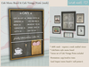 {what next} Cafe Memo Board & Cafe Vintage Prints