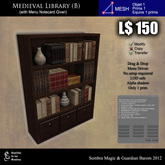 LOW PRIM - Medieval library (B) [G&S]