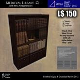 LOW PRIM - Medieval library (C) [G&S]