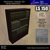 LOW PRIM - Medieval library (D) [G&S]