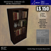 LOW PRIM - Medieval library (E) [G&S]