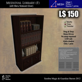LOW PRIM - Medieval library (F) [G&S]