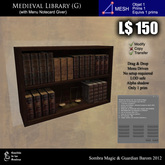 LOW PRIM  - Medieval library (G) [G&S]