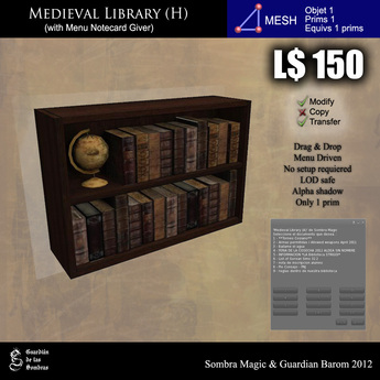 LOW PRIM - Medieval library (H) [G&S]