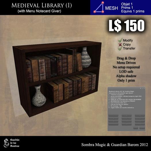 LOW PRIM - Medieval library (I) [G&S]