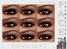 Natural Beauty-Eyelashes set #2