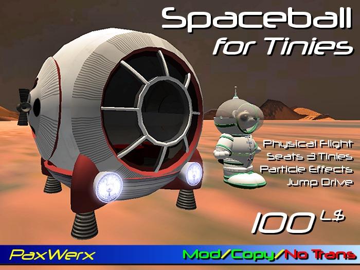 Tiny Spaceball (BOXED)