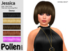 Pollen Hair - Jessica ( Mesh ) - DEMO With 5 Colours