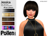 Pollen Hair - Jessica ( Mesh ) - ALL 40 COLOURS - SALE 50% OFF