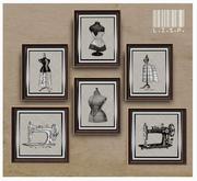 Sewing Day Prints - LISP Bazaar