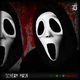 HALLOWEEN COLLECTION / DEF! Mask / Scream