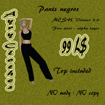 Pants_negros by Aury