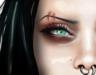 Corvus : Eyebrow Double Scar Bom