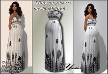 Maternity dress  mesh White from <<Yanka>>