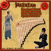 Paixiao Flute Bamboo >>Tokuno Wind<<