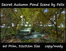 Secret Autumn Pond Scene