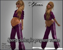 Sports clothes for pregnant women from <<Yanka>>/Pink