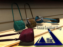 -ATTIC- Tosca Leather Bag