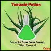 Tentacle Potion - Grows tentacles when thrown