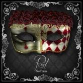 {MIRROR MIRROR} mask:01 (Red)