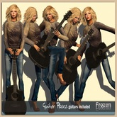 Frozen - Guitar Poses/ guitars included