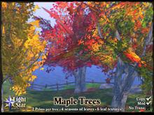 *LightStar- Maple Trees- 2 prims, 4 seasons
