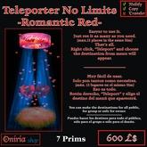 TELEPORT NO LIMITS-ROMANTIC RED