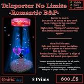 TELEPORT NO LIMITS-ROMANTIC B&P