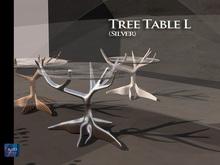 {{BSD Design Studio}} Tree table L (silver runing water )[M/T]