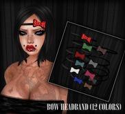 dl:: Bow Headband (12 colors)..