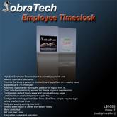 CobraTech Employee Timeclock II