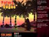 "Palmtree ""Vegas"" decorated tree palm christmas  tropical"