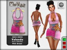 Yolanda Mesh Dress fancy collection Pink Dream