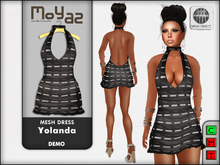 Yolanda Mesh Dress DEMO