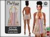 Yolanda Mesh Dress Poste la France