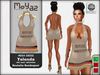 Yolanda Mesh Dress Deutsche Bundespost