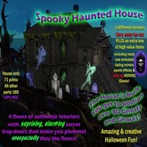 Brand New Spooky Haunted House