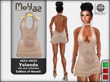 Yolanda Mesh Dress Coffees of Hawaii