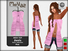 Janis Mesh Top Pink
