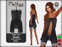 Janis Mesh Top Black