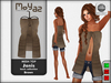 Janis Mesh Top Brown