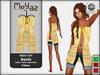 Janis Mesh Top yellow - table cloth