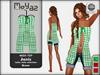 Janis Mesh Top green - table cloth