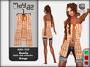 Janis Mesh Top orange - table cloth