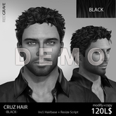 DEMO Hairstyle CRUZ - REDGRAVE