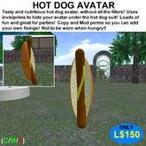 Hot Dog Avatar