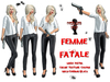 Bounce This Poses - Femme Fatale